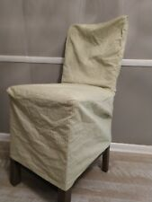 Green And White Gingham Dining Room Chair Cover