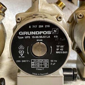GRUNDFOS UPS15-35/50 PUMPE Umwälzpumpe Heizung Junkers 8717204216 Class F