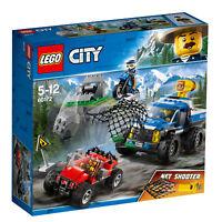 60172 LEGO City Police Dirt Road Pursuit 297 Pieces Age 5+
