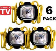 6 x Amazing Widget Light Clings Anywhere SUPER Bright LED Worklight Emergency