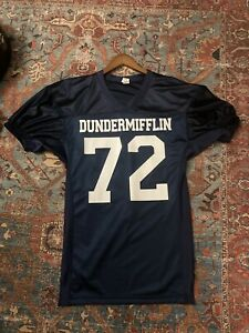 THE OFFICE Production-Used Dunder Mifflin Football Jersey Prop Wardrobe Screen