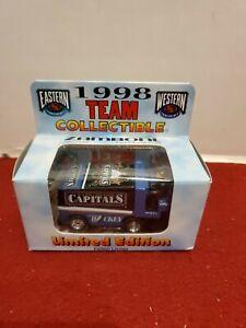 1998 TEAM COLLECTIBLE  NHL WASHINGTON CAPITALS DIECAST ZAMBONI - limited edition