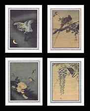 4 Bird Note Cards by Kosan GCBS008