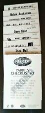 1992-93 PARKHURST PARKIE REPRINTS SERIES 3 PROMO SET W/CHECKLIST**KEON*SCHMIDT*