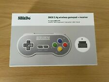 8 bitdo-Super Nintendo SNES Famicom SN30-Controller Wireless 2.4 Ghz-Nuovo!
