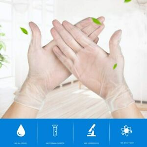Best Quality Powder Free Latex Free Vinyl Gloves Transparent Gloves Strength UK