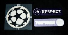 Official Champions League 2006/08 Football Shirt Patch/Badge Starball + respect
