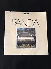 Fiat Panda - 1982 original UK Sales Brochure ****FAST & FREE SHIPPING****