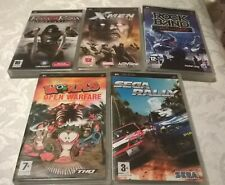 PSP Game Bundle (Prince, Xmen, Rock Band, Worms, Sega Rally