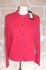 Veste en jeans rose pivoine neuve de marque DIPLODOCUS taille 40 étiqueté à 149€