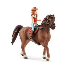 SCHLEICH 42411 Horse Club Mädchen Hannah & Quarter Horse Wallach Cayenne Neuheit