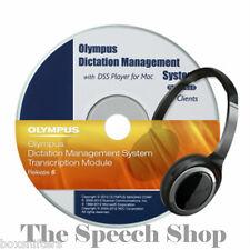 Olympus As-7002 Vollversion ODMS Cd-rom mit Einzelplatzlizenz Fuer Transcription