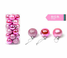 40/60/80mm Christmas Xmas Tree Ball Bauble Hanging Party Ornament Decoration Nic