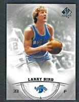 2013-14 SP Authentic Larry Bird #10 HOF Boston Celtics