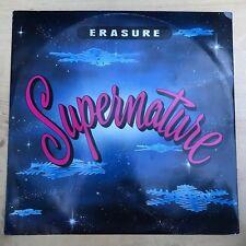 """Effacement-Supernature-XL 12 MUTE 99 - 12"""" Vinyle single EX/EX"""