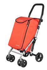 Carlett Shopping Trolley, Red LETT430C-2
