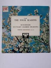 Karl munchinger Werner krotzinger vivaldi four seasons DECCA  STEREO SXL2019