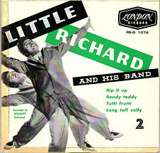 "LITTLE RICHARD  AND HIS BAND - 2   EP  FRANCE  LONDON  "" RIP IT UP ""  [3]"