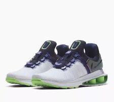 16a49ce8cffdb8 Nike Shox Gravity Womens Running Shoes White Violet Green AQ8554 105 NEW Sz  6.5