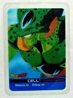 Dragonball Z Lamincards Edibas N. 134 Cell Trasformazione Figurine Collezione