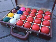"Ex-Demo Set of 24-Piece 2"" Fibre Glass Reinforced Plastic Snooker Balls"
