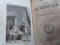 Gessner Oeuvres complètes de Gessner 4/4 1834