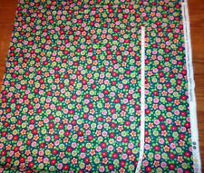 New * Mary Engelbreit * Christmas Trimming The Tree, Candy Flowers COTTON Fabric