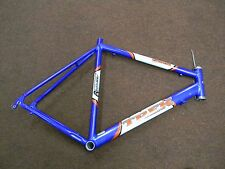 Trek 1000 Road Bike Frame 60cm Center-Top Alpha Series Blue White FSA headset