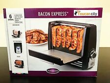 Nostalgia Bacon Express Electric grill COOK HEALTHY CRISPY FOOD Maker BCN6BK