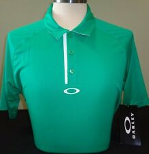 NEW MENS OAKLEY SOLID PERFORMANCE S/S POLO GOLF SHIRT, PICK COLOR & SIZE, $75
