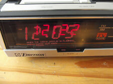 Vintage Emerson Red5710B Am/Fm Dual Alarm Clock Radio New/Unused