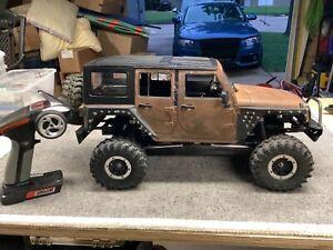 Custom Jeep Unlimited Trail Rock Crawler Redcat Axial Traxxas Trx4