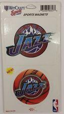 NBA Utah Jazz 2 Piece Die Cut Magnet Set, NEW