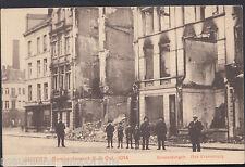Belgium Postcard - Anvers Bombardement 8-9 October 1914 - RT882