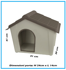 Cuccia cane taglia piccola per esterni/interni struttura in resina