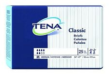 TENA Classic Brief, MEDIUM, Adult Diapers, Heavy Absorbency, 67720 - Case of 100
