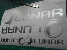 4x Lunar Caravan Motorhome Vinyl Sticker