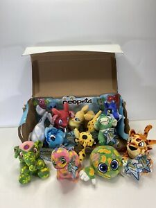 Neopets LOT OF 11 With BOX Plush Series 5 Wal-Mart Exclusive w/NEW Code