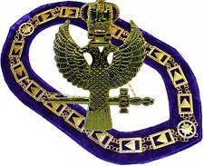 Masonic Collar Pendant 33rd Degree Scottish Rite Wings up Dmr-100gp Pen