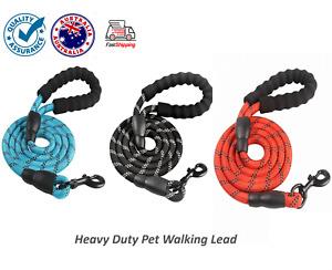 Nylon Reflective Round Rope For Medium and Large Dogs Dog Leash - Dog Lead- AU