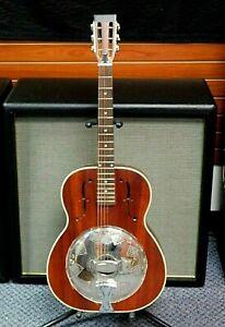 Rogue Triolian CT44 Biscuit Cone Resonator Guitar! All Mahogany! NO RESERVE!!!!!