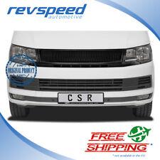 CSR Automotive Black Badgeless Grille For Volkswagen VW Multivan Bus T6 2015-