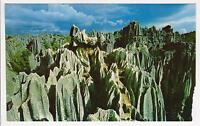 ASTOUNDING STONE FOREST in CHINA POSTCARD - SMALL EDGE TEAR