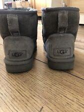 Womens UGG Classic Mini - Grey Size 4.5