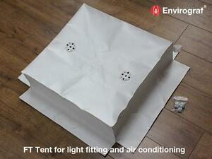 Self Supporting Light Cover Tent FT4, 1 Hour Envirograf Fire Safety Product