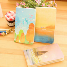 Journal Diary Notebook With Lined Paper Vintage Notepad Book Kids Stationery KY