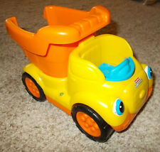 Fisher Price Little People Rumblin' Rocks Dump Truck with Sound Music Incomplete