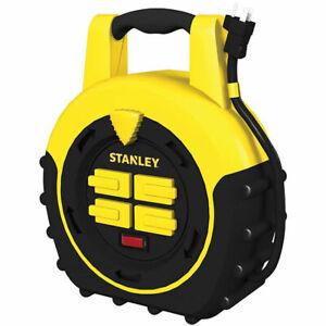 Stanley 33959 ShopMax Power Hub 20-Feet 4-Outlet Cord Reel