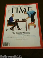 TIME MAGAZINE - THE IDEAS ISSUE - MARCH 24 2014