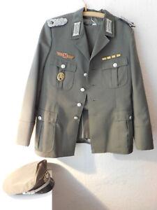 Uniform  DDR NVA Major  1967  Jacke Hose Mütze frühes Stück